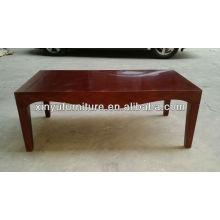Mesa de café retangular de madeira XY0828