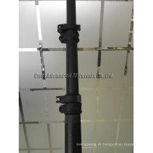 Pólo de luz telescópico de boa qualidade, poste telescópico, braçadeira de poste telescópico