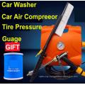 New Arrival 3 in 1 High Pressure Car Washer 12V Car Wash Machine Car washer With Car Air compressor Car inflator car Pump