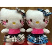 Niños lindo juguete suave de dibujos animados relleno Hello Kitty juguete de peluche