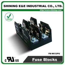 FB-M032PQ Equal To Busmann 600V 2 Pole Din Rail 30 Amp Fuse Base