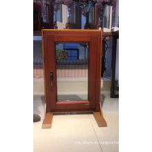 Cristal de diseño simple 36 x 42 marco ventana yy pantalla de alta calidad ventana de doble acción ventana impermeable
