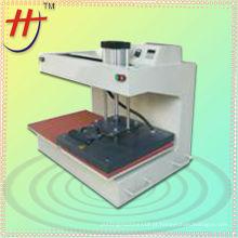 T máquina de transferência de calor de estação dupla pnematic