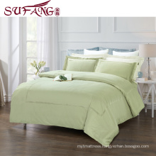 top 5 luxury 5 star hotel High Quality Hotel Bedding Linen Supplier 60s100% Cotton Plain White Bed Sheets Set frame embroidery