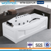 Cupc Approved High Quality Rectangle Whirlpool Massage Bathtub