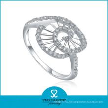 Лучшее серебряное кольцо 925 с CZ (SH-R0012)