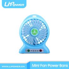 Kundengerechter bunter beweglicher Minilüfter Plastik mini beweglicher Ventilator