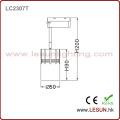Fabrik-Preis 7W schwarze LED COB Track Beleuchtung LC2307t