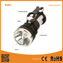 C43 Outdoor Portable Lead-Acid Battery Charging Solar Camping Lamp