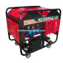 12kw tipo abierto / silencioso refrigerado por aire del generador diesel