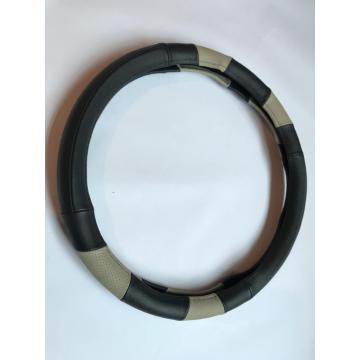 Good Quality for Leather Steering Wheel Wrap Auto real leather steering wheel cover export to Puerto Rico Supplier