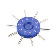 Agujero de la lente óptica de la alta precisión Calibrador del hilo del enchufe del calibrador