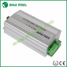 Decodificador do dmx do decodificador smd3535 smd5050 de APA102C 2 * 170pixels DMX