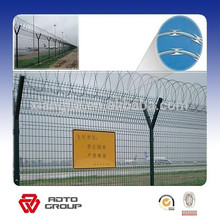 Malla de alambre de alta resistencia y seguridad Cerca de la cárcel