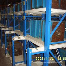 Système standard de défilement de moule réglable en acier