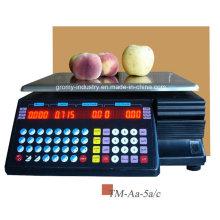 Échelle électronique d'impression à code à barres électronique OIML (TM-AA-5A / c)