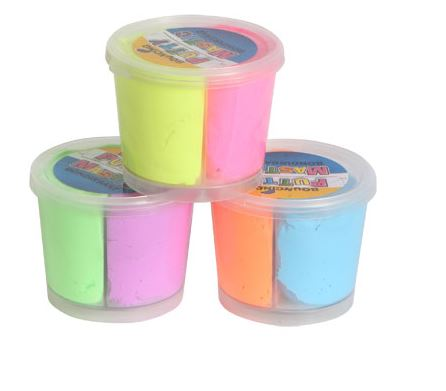 Two-tone Bouncing Putty