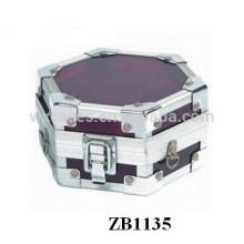 Caja de regalo de joyería nuevo estilo aluminio