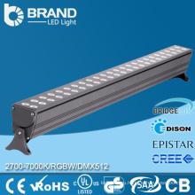 RGB Светодиодные стены стиральная машина света Водонепроницаемый 24V светодиодные бары 72W