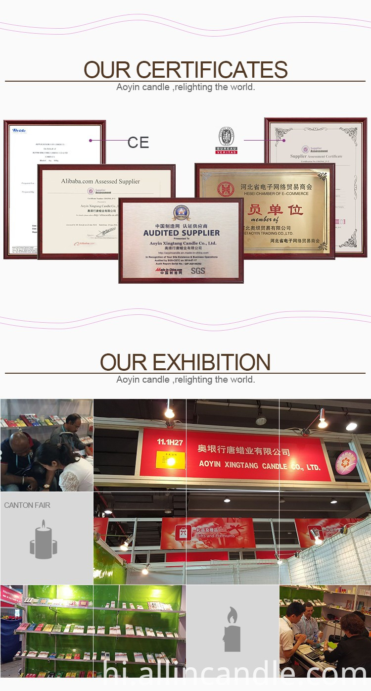 certificates & Exhibition