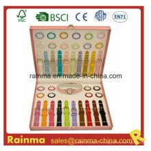 Assista presente de menina com variedade de pulseira colorida