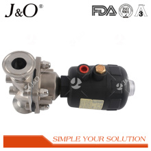 High Comments Stainless Steel Sanitary Pneumatic Diaphragm Valve