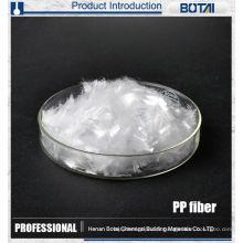 fibre de macro de pp pour la fibre concrète de polypropylène