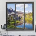 Feelingtop Thermal Break Aluminium Arch Sliding Window