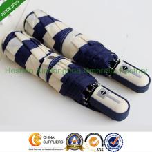 Quality Automatic Folding Umbrellas with Strips (FU-3821ZFA)