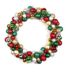60cm Large Plastic Decorative Christmas Ball Wreath
