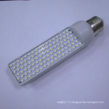 Hot vente E27G24 SMD3528 180-240v conduit des lumières de maïs 2700k-7500k 5w led pl grain de maïs