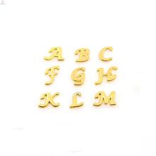Lettre de charme d'alliage de métal de vente supérieure, petites trouvailles de charmes, charmes de caractère en gros bijoux