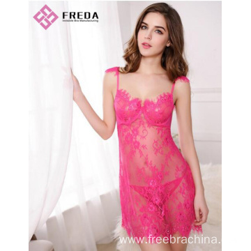 Women fashion sexy lace nightdress