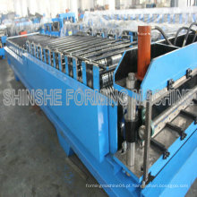 Decker Panel Steel Roll formando a máquina