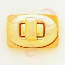 Cerradura de giro ovalada para bolsa de cuero (P11-209A)