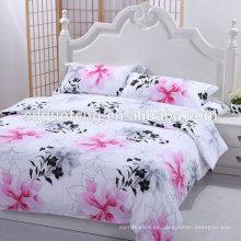 Material de cama de diseño popular Textil 100% algodón impreso