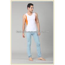 2014 neue Design gute Qualität gestreifte Männer Sportbekleidung, nahtlose Männer Trikots tragen