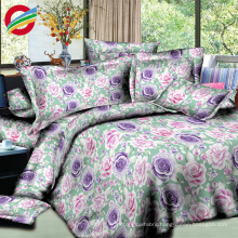 100% cotton 3d printed bed sheets bedding sets for fabric