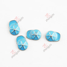 Chinese Jewelry Manufacture Blue Hat Custom Charms (FC)