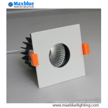 18/36 Degree Square Surface Hotel/Shopping Mall COB LED Spotlight