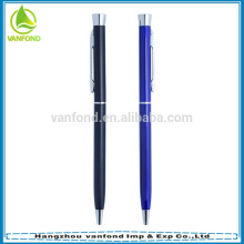 2015 popular promotional slim cross metal ball pen for hotel