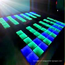 Plein nouveau plancher de danse d'effet de tunnel de RVB 3in1 LED