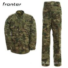 new tactical combat BDU uniform woodland camo