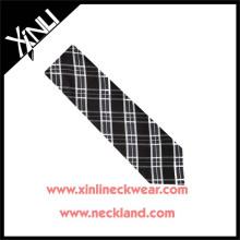 Dry-clean Only Plaid de corbata de seda 100% hecho a mano