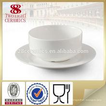 Глиняная посуда ободком суп чаши дешевые стеклянные чаши