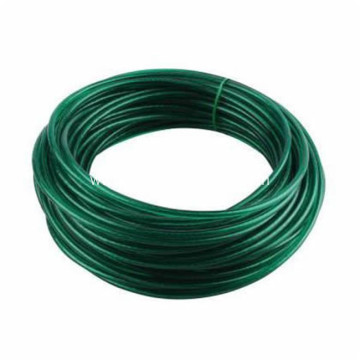 Small Coiled Green Garden Wire