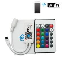 ánodo común WiFi RGB / RGBW controlador wifi hogar mágico llevó controlador de la tira