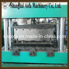 Máquina para fabricar rollos de panel de piso de autobloqueo (AF-R1025)