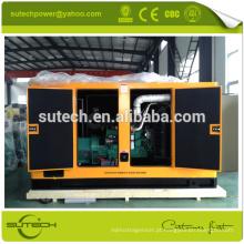 100% novos 200Kva conjuntos de gerador diesel silencioso, alimentado por motor CUMMINS