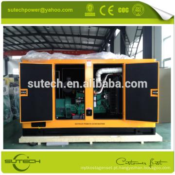 Máquina de soldadura diesel à prova de som do gerador do preço 300kw baixo